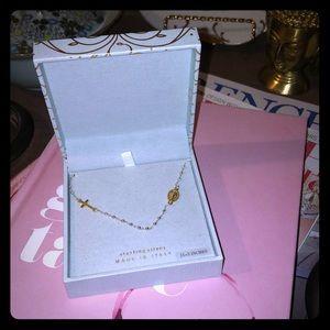 """New in box Mia Fiore Sterling silver 15"""" rosary 📿"""